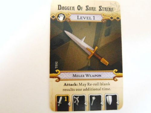 md - l1 treasure card (dagger of sure strike)